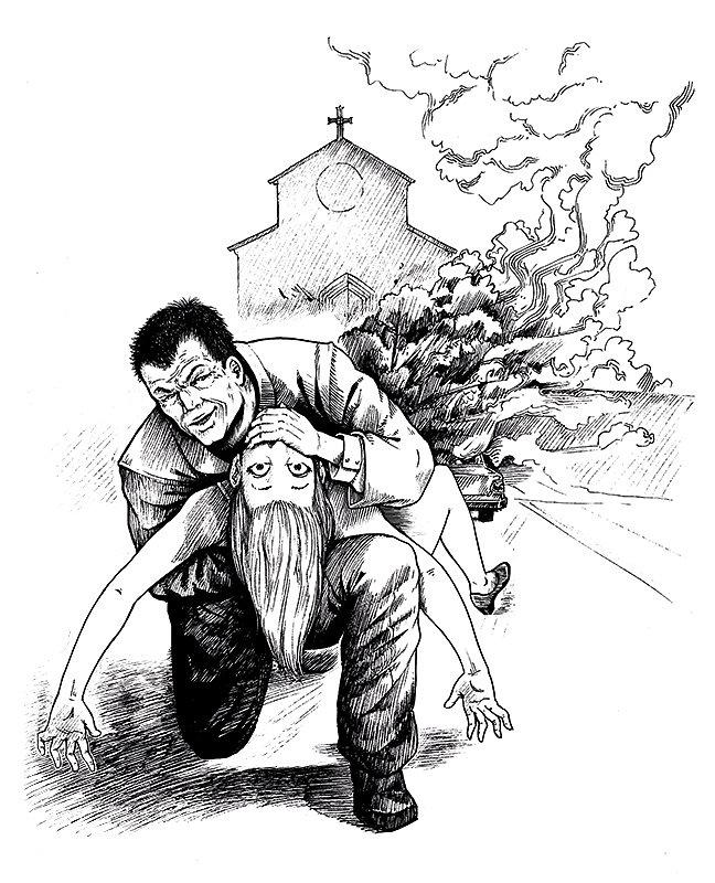 Killer savior priest
