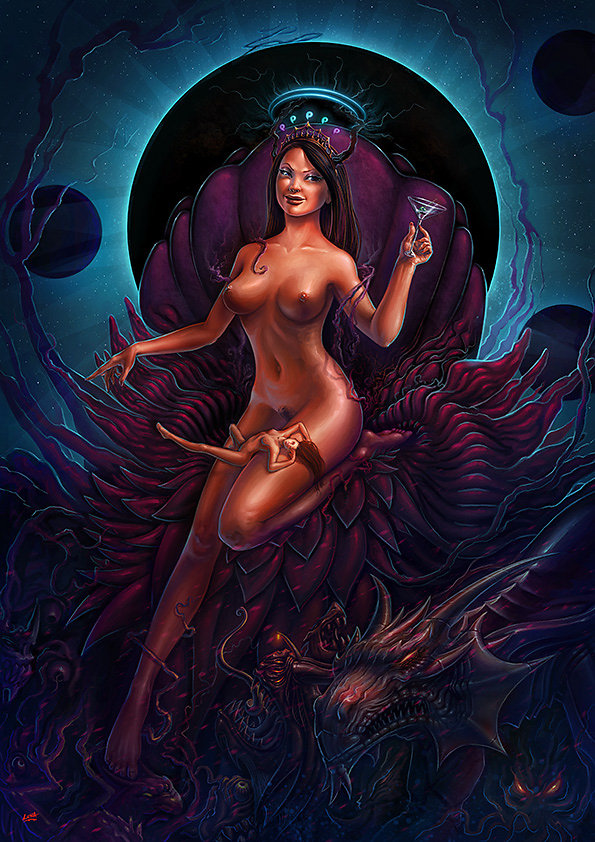 Obscuria reine des monstres