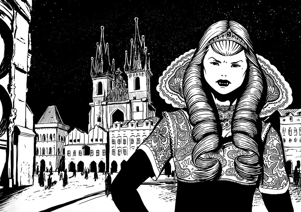 Libuse vampire prince de prague