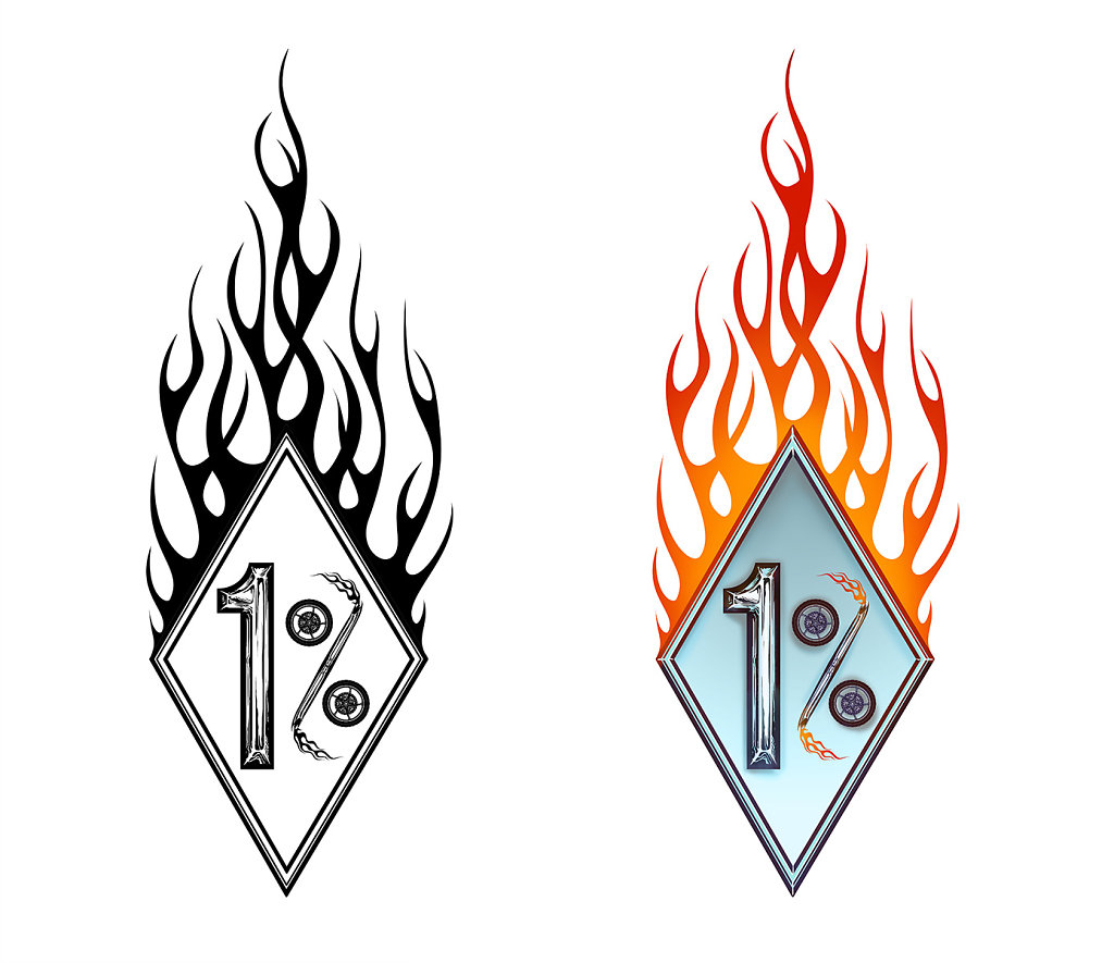 Logo 1% pour Gamefu