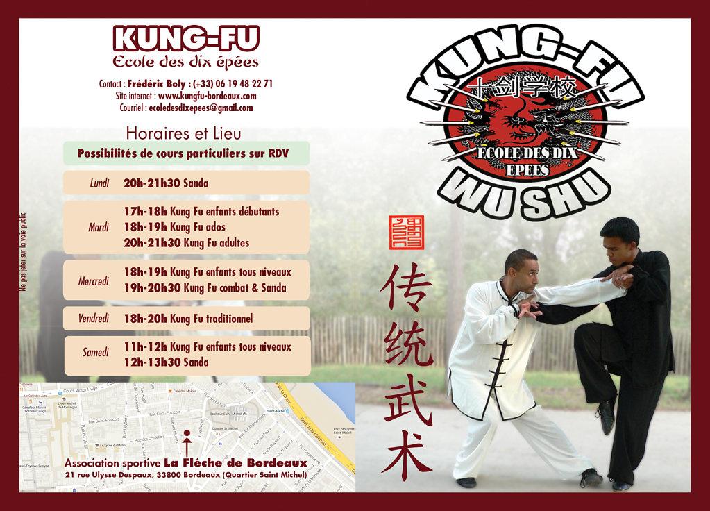 Kung Fu flyers