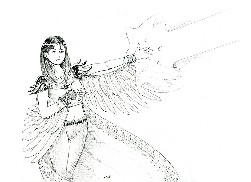 Power Hawk ! Encore un monstre a blaster !