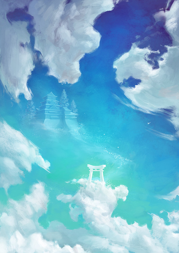 Torii Sky - Entrance to the celestial land