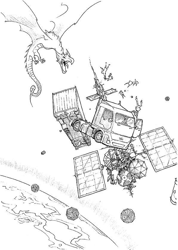 Lilith - Run on Zurik Orbital - Shadowrun