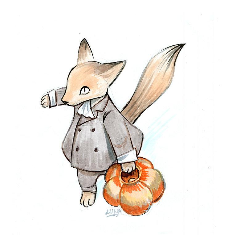 Halloween Fox