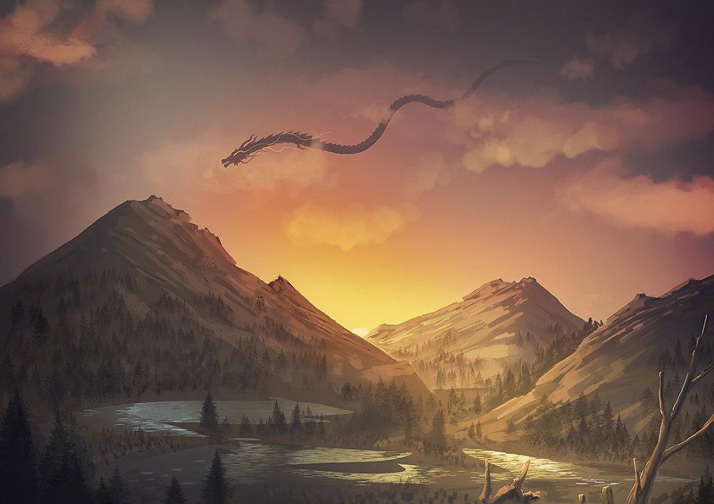 Dragon Scape (20min)