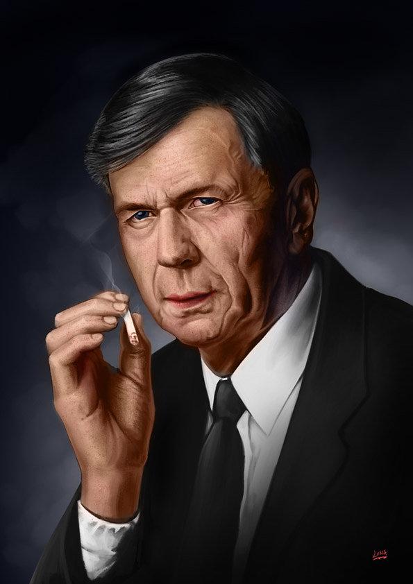 Cigarette Smoking Man