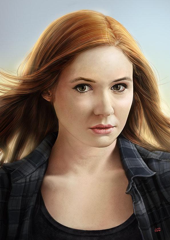 Docteur Who Amelia Pond