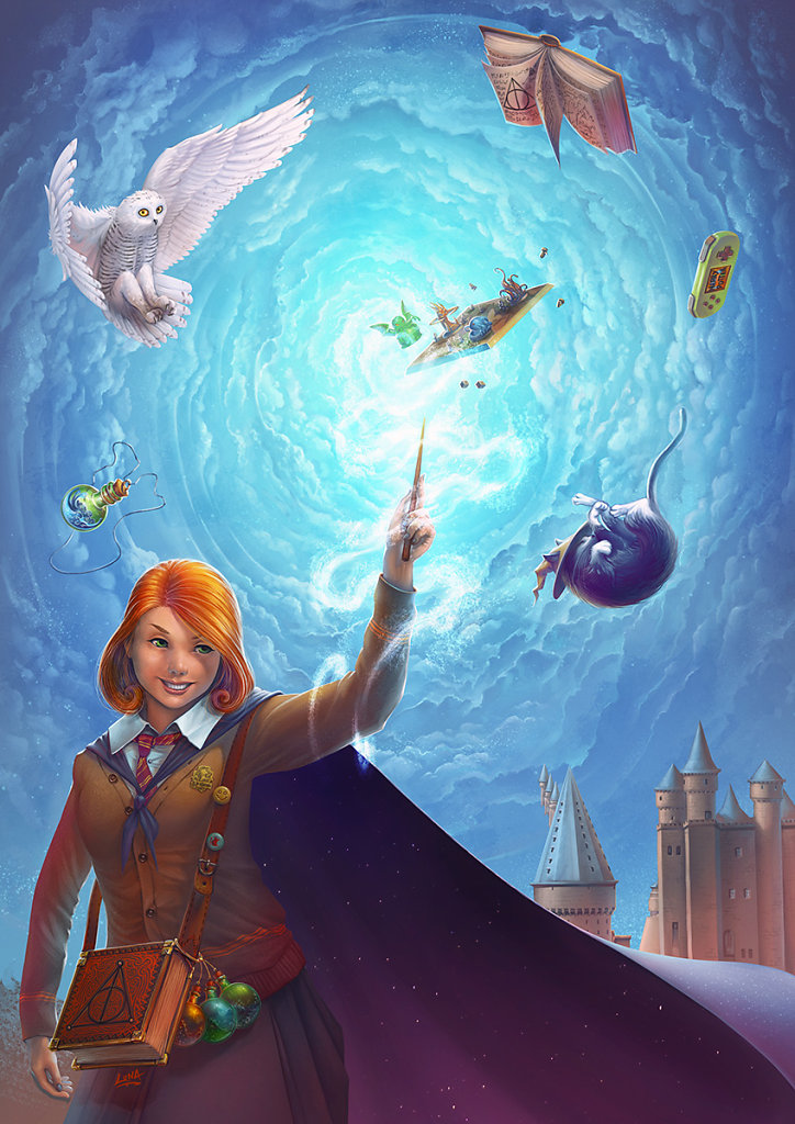 Affiche Game In harry Potter !