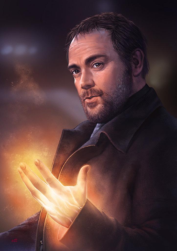 Supernatural Crowley - Mark Sheppard