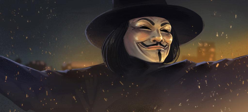 V Pour Vendetta (30min)