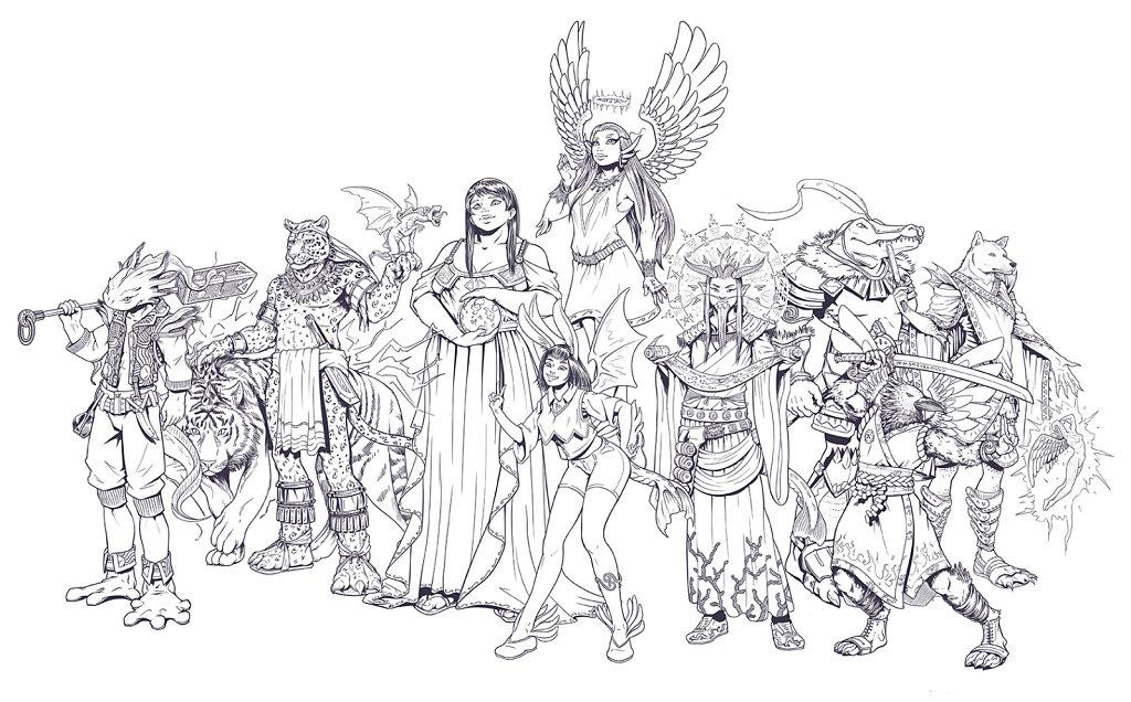 Famille - Les Unrima de la Tour de l'ascension