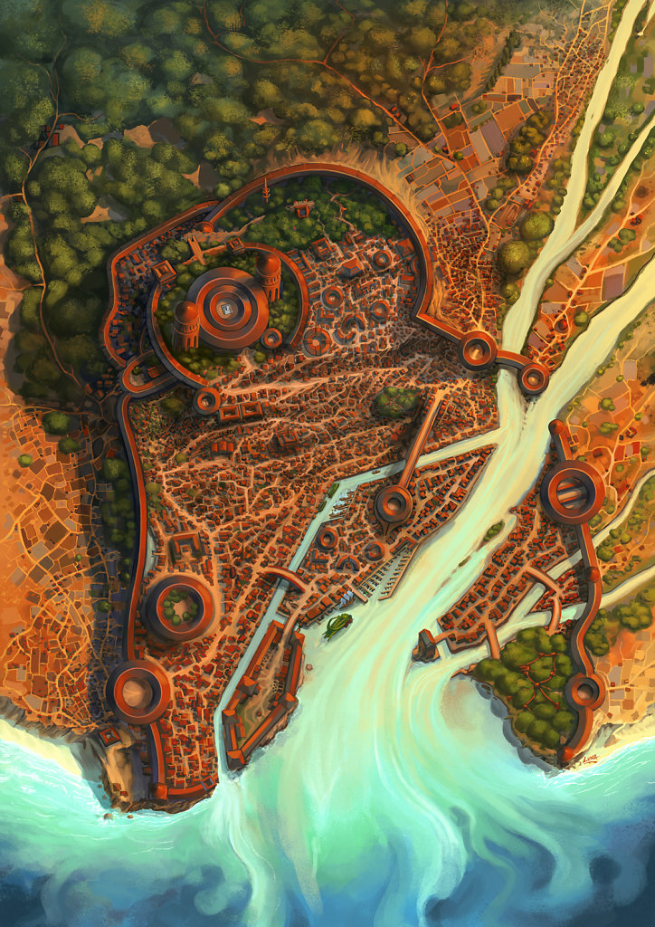 Emysfer - Carte de la Ville Logonyl